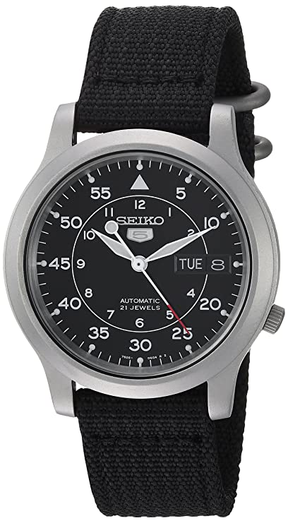 Reloj con pantalla redonda de acero inoxidable y correa negra. Tiene un  diseño simple y casual para cualquier ocasión. Además d05826c97284