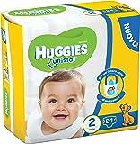 Huggies Unistar Pannolini, Taglia 2 (3-6 kg), 6 Confezioni da 24 [144 Pannolini]