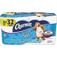 16-Pack Charmin 94045 PGCCT Ultra Soft Bathroom Tissue (154 per Roll)