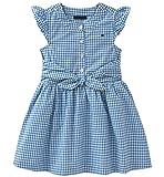 Tommy Hilfiger Girls' Toddler Dress, Blue, 4T