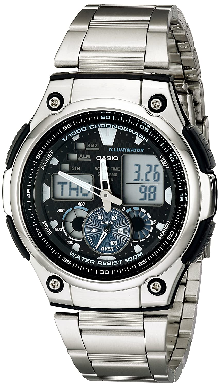 Casio Men s AQ190WD-1A Multi-Task Gear Sports Watch