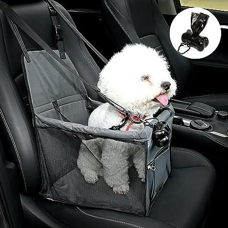 Plegable de Viaje Cachorro Perro Gato Mascota Portador de Coche Cubierta de Correa de asiento de seguridad