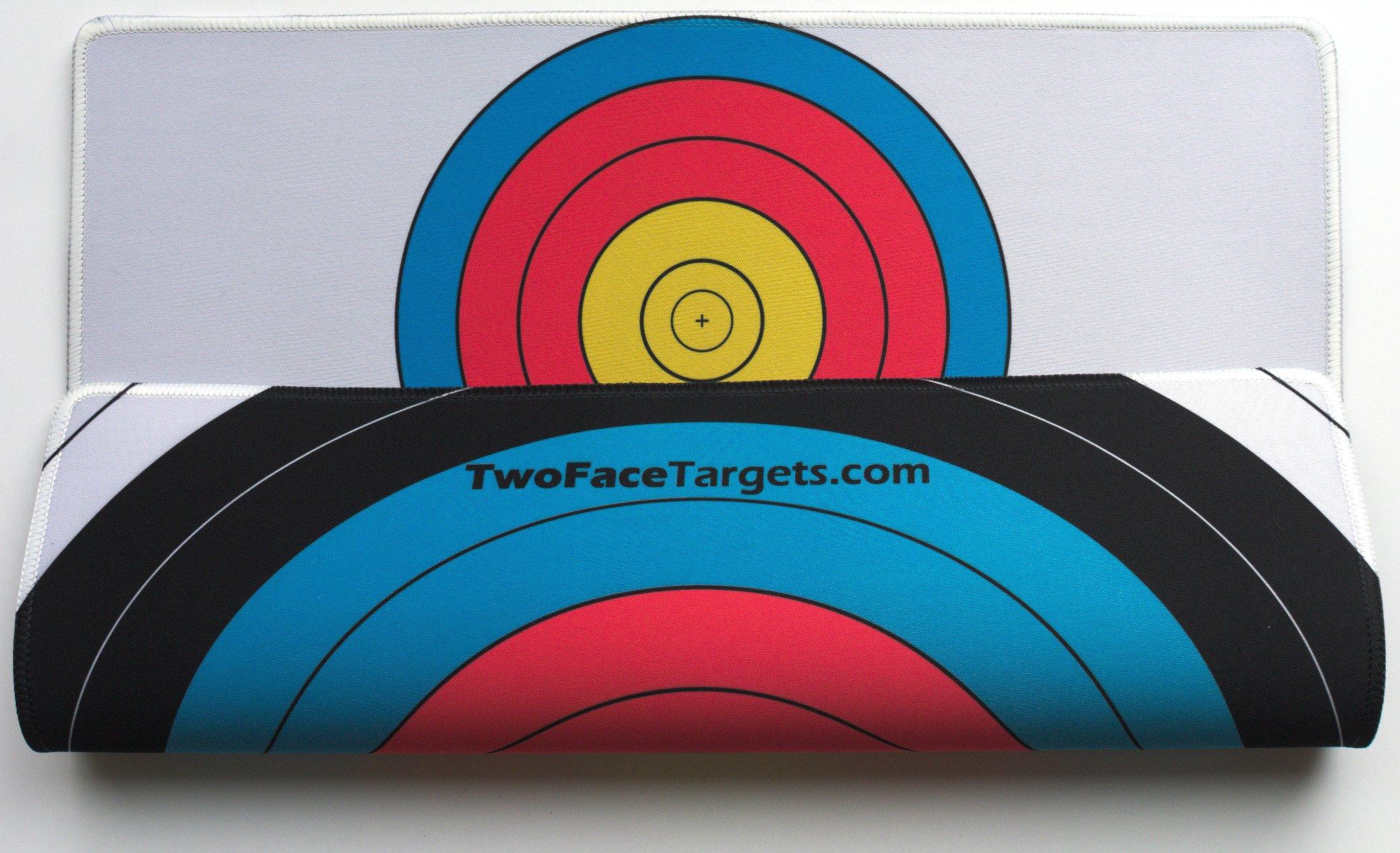 TwoFace Targets Large FITA 40cm 3 Spot/FITA 60cm