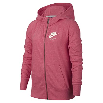 Nike Girls Sportswear Vintage Hoodie Sudadera, Niñas