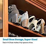 Livin' Well Shoe Organizer Rack for Closets