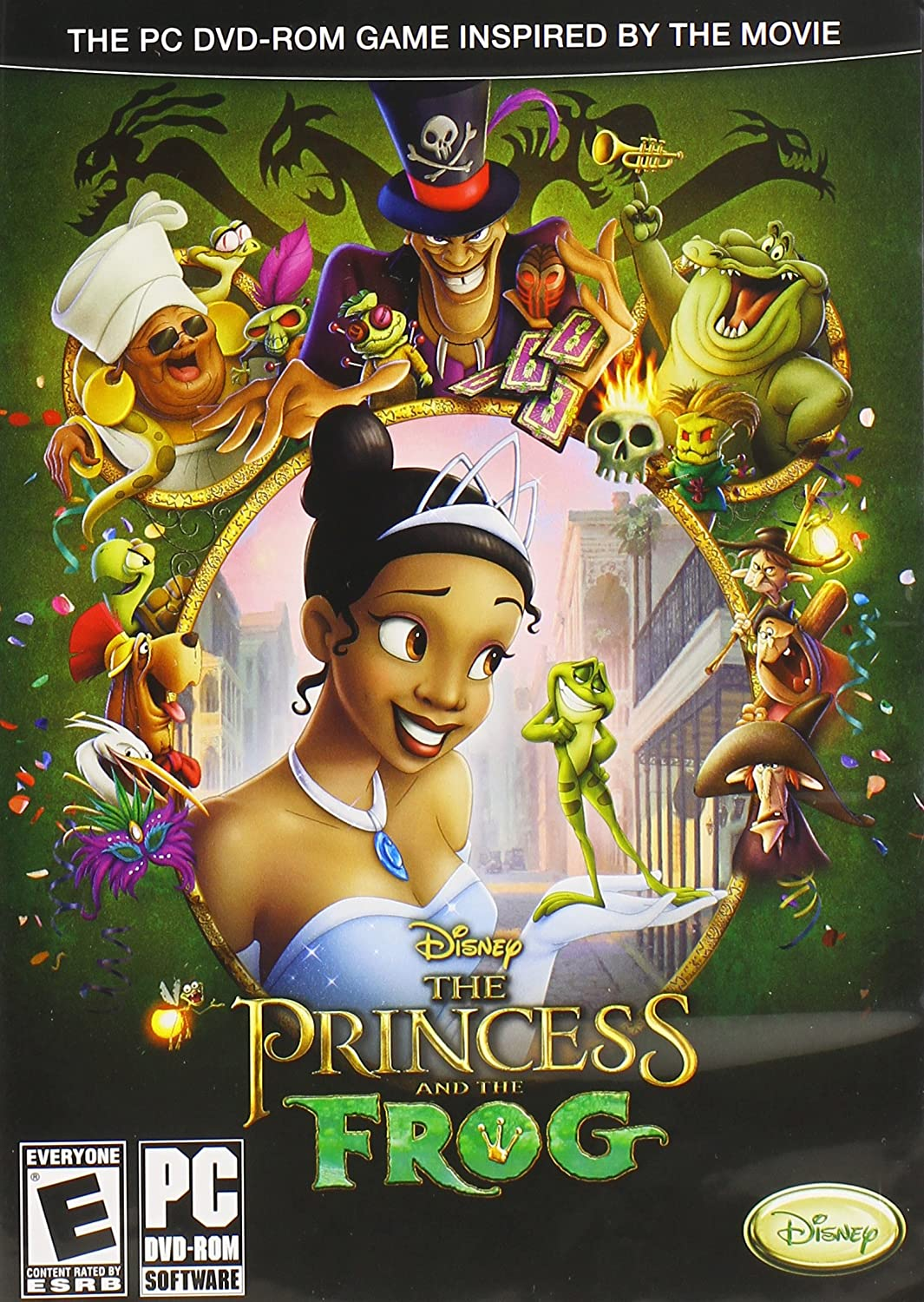 Amazon Com The Princess And The Frog Video Games