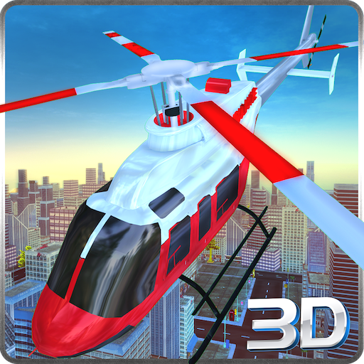 City Police Helicopter Simulator 3D: Rescue Patients In 911 Air Ambulance Flight Simulation Operation 2018