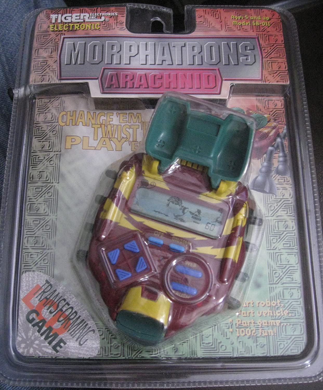 MORPHATRONS ARACHNID TRANSFORMING ELECTRONIC HANDHELD GAME (TIGER) B006ASYVA6