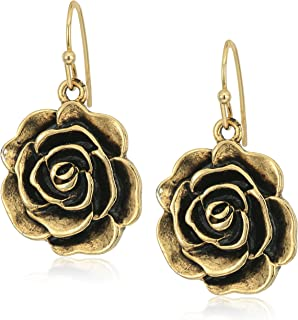 product image for 1928 Jewelry Flower Drop Earrings