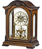 Bulova B1845 Durant Old World Clock, Walnut Finish