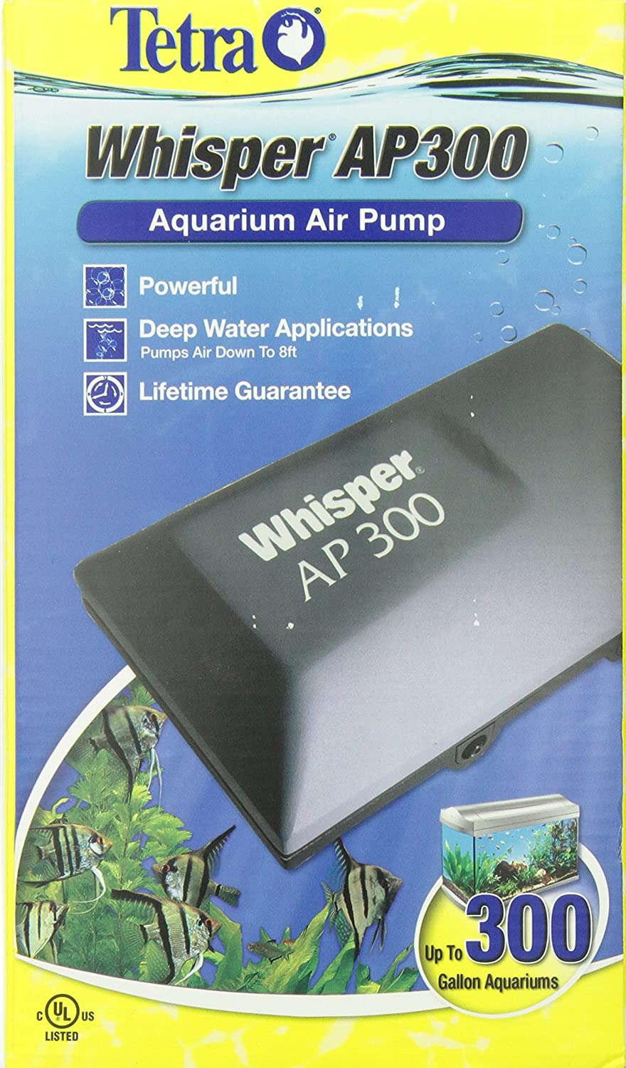 91Zm5Fak 4L._SL1500_ amazon com tetra 26075 whisper aquarium air pump ap300, up to  at gsmportal.co