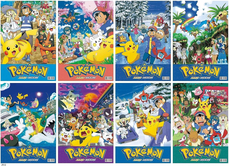 Set Pokemon Mini-Poster Posterleisten #B062410 50x40cm
