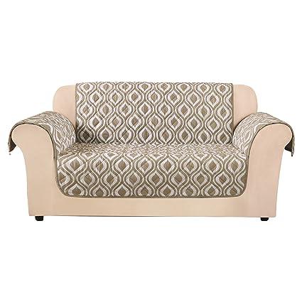 Strange Surefit Furniture Flair Loveseat Slipcover Ogee Machost Co Dining Chair Design Ideas Machostcouk