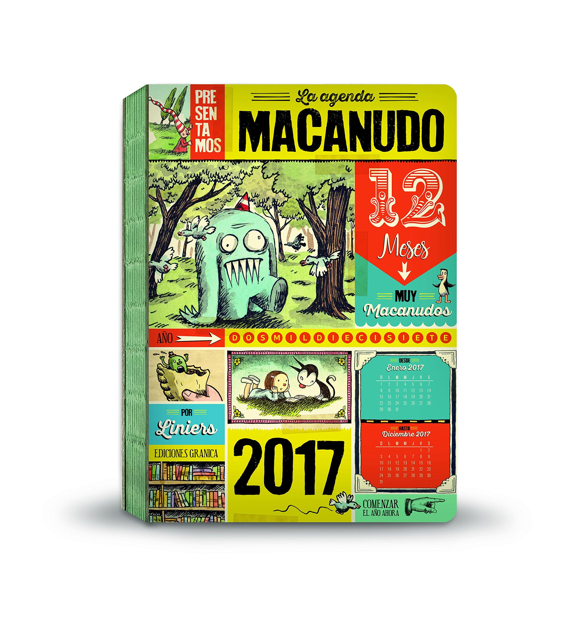 Macanudo 2017 Agenda encuadernada - Personajes (Spanish ...
