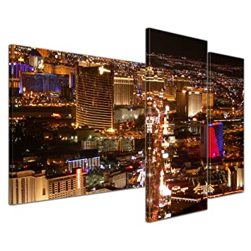 The Strip Las Vegas Casino 1p Bild Bilder auf Leinwand Wandbild Poster