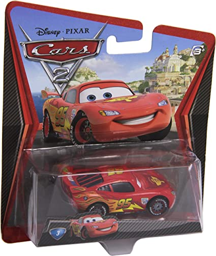 Combined Postage DISNEY CARS DIECAST Tongue McQueen In A Box