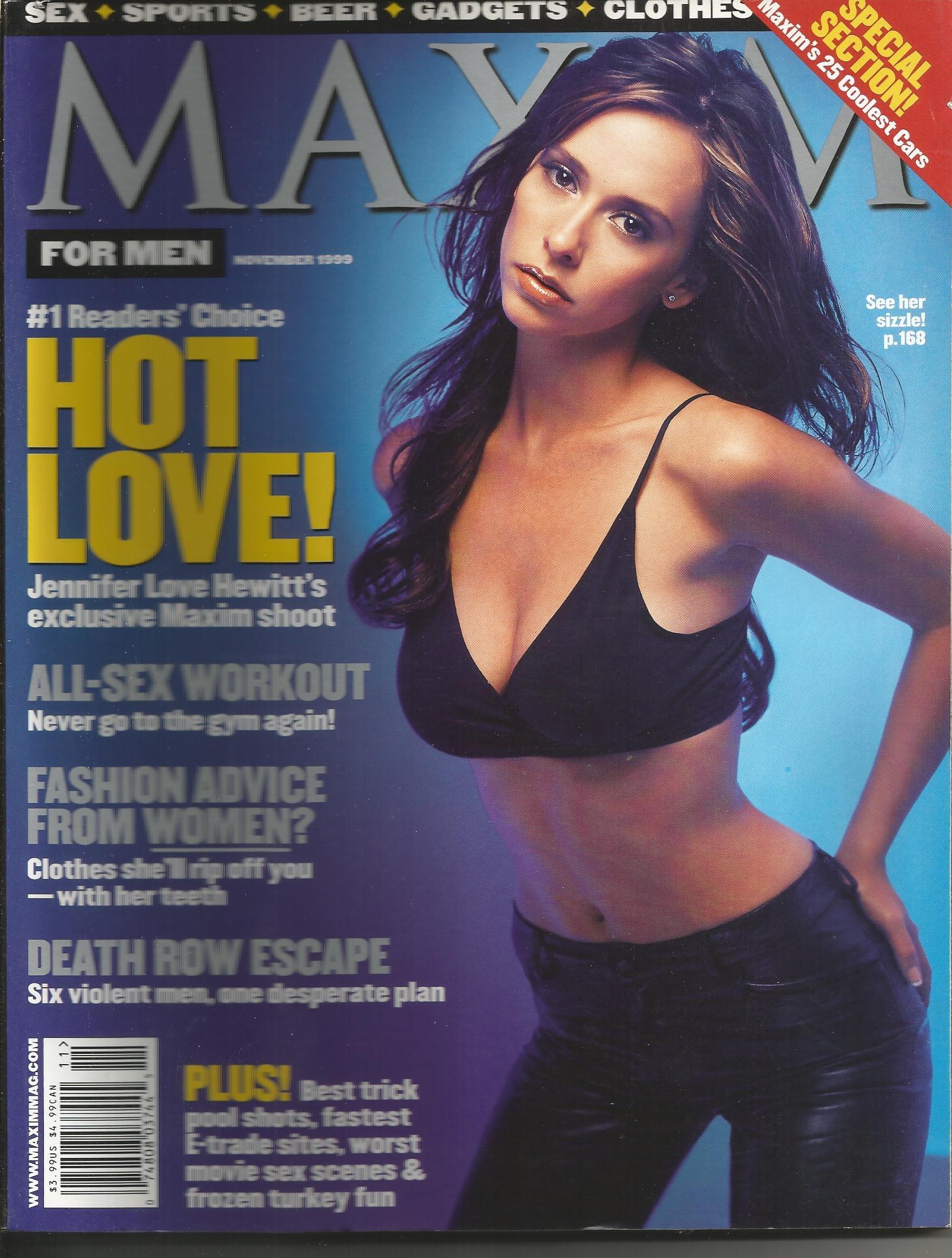 Maxim jennifer love hewitt Expose Hottest