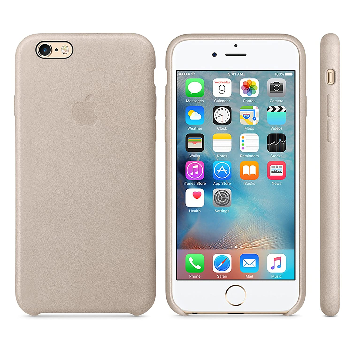 apple cases. amazon.com: apple oem leather case - for iphone 6 plus / 6s rose gray (new): cell phones \u0026 accessories cases