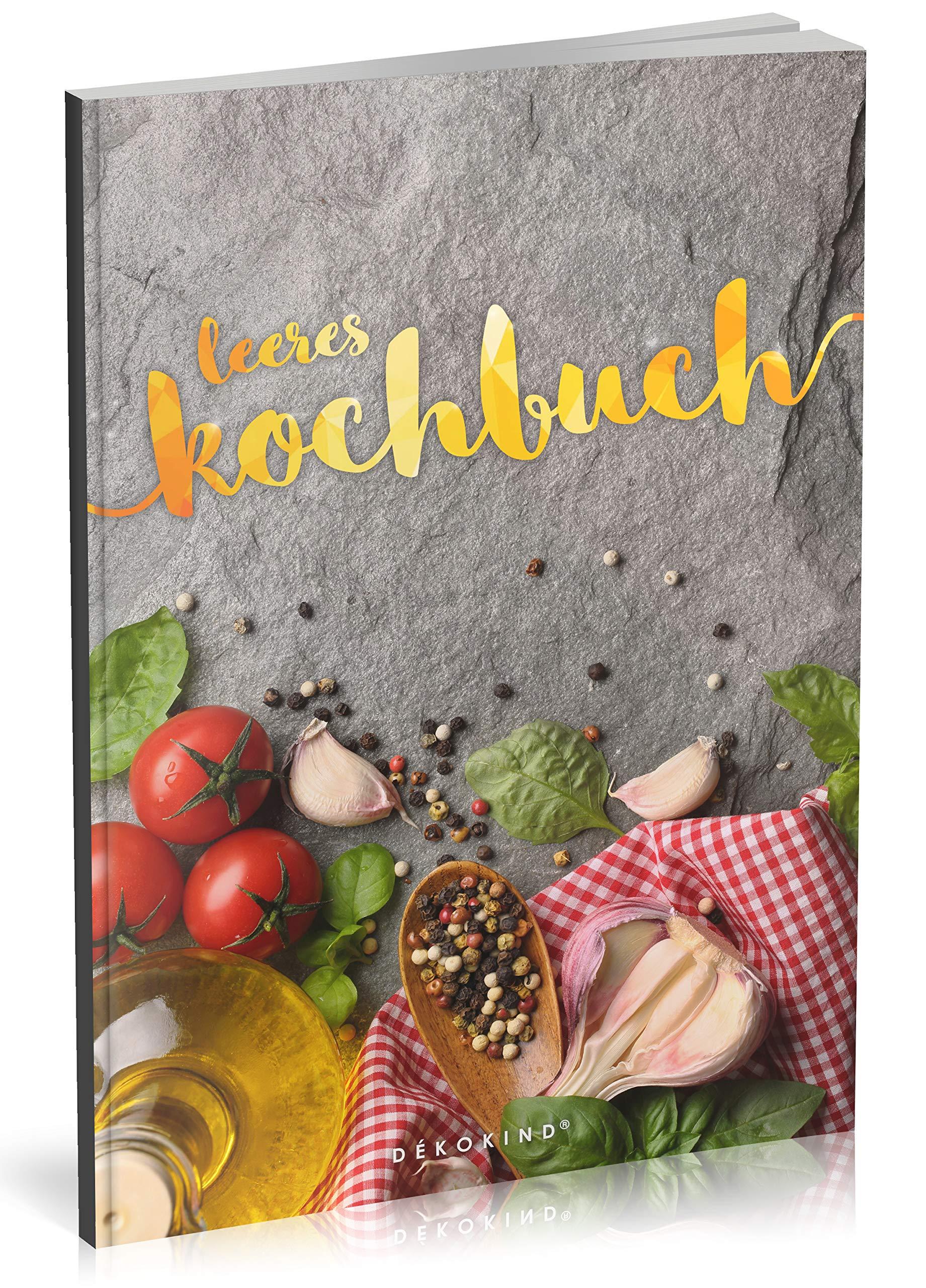 Dekokind Leeres Kochbuch Taschenbuch Großdruck 3 August 2018