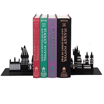 Harry Potter Hogwarts Bookends Decorative Metal Hogwarts School Castle Design