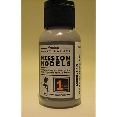 Mission Models Medium Grey FS36270, MMP-118: Toys & Games