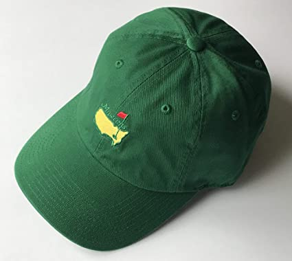 e228406f60640 Masters golf Hat green caddy style augusta national new 2019 masters pga at  Amazon s Sports Collectibles Store