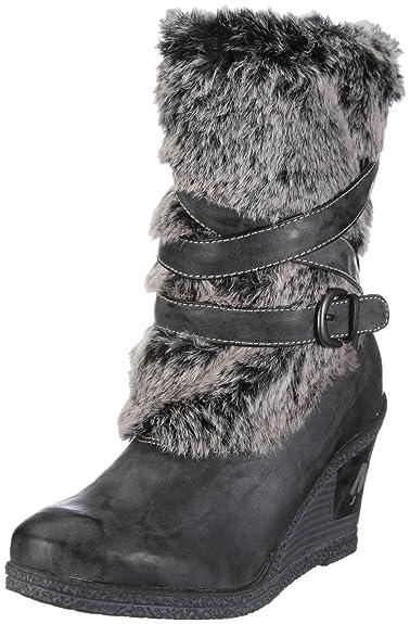 Bottes Gris Eu Femme Mustang Chaussures Df6c7a HTzqdxHYw