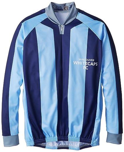 985156061 Amazon.com   MLS Vancouver Whitecaps Women s Striped Long Sleeve Vomax  Jersey   Sports   Outdoors
