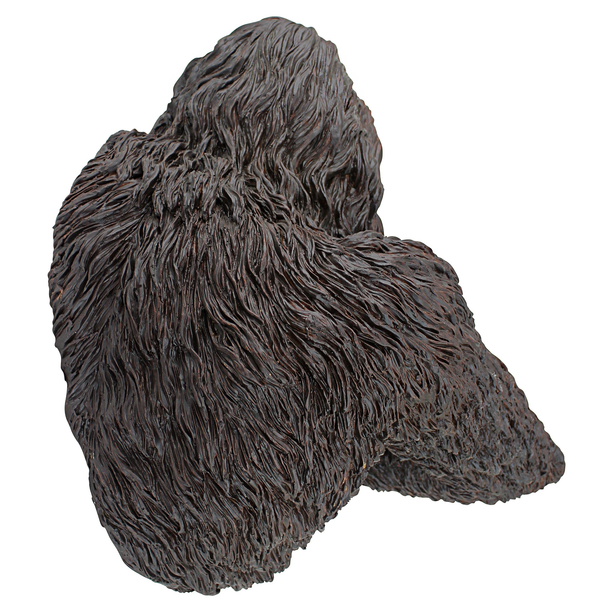 Design Toscano Bigfoot the Bashful Yeti Garden Tree Sculpture, 15 Inch, Polyresin, Full Color by Design Toscano (Image #3)