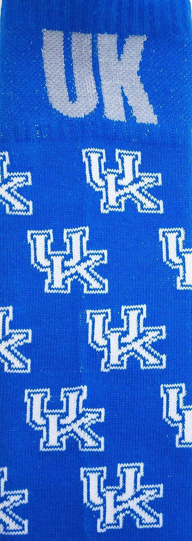 Blue One Size Donegal Bay NCAA Kentucky Wildcats Dress Socks