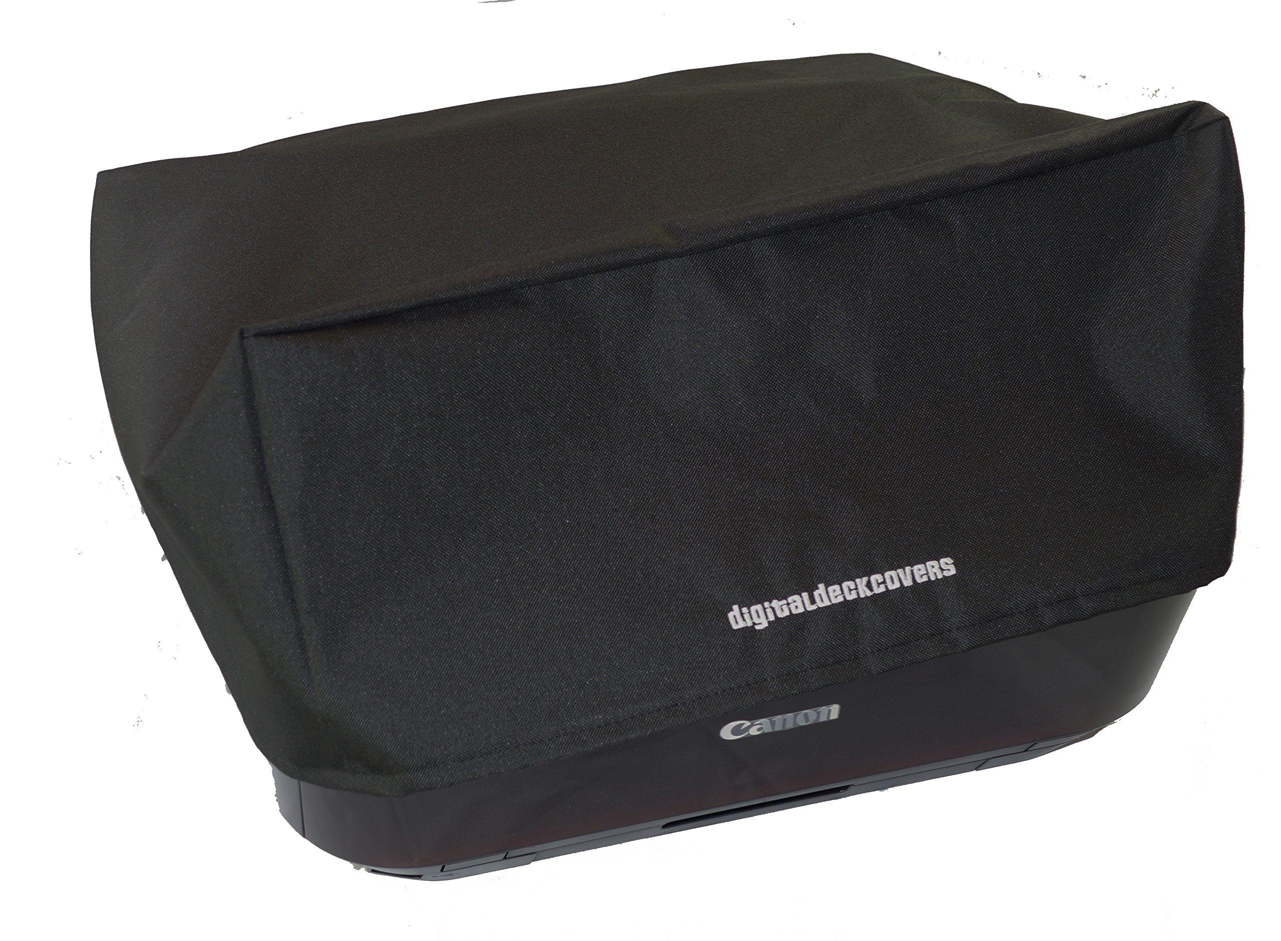 DigitalDeckCovers Printer Dust Cover for Canon Pixma MX722 / MX922 / MX925 / MX926 Printers [Antistatic, Water Resistant, Heavy Duty Premium Fabric, Black]