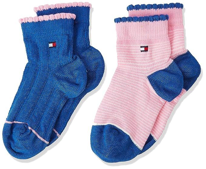 Tommy Hilfiger Calcetines Bebé-para Niños, (Pack de 2): Amazon.es: Ropa y accesorios