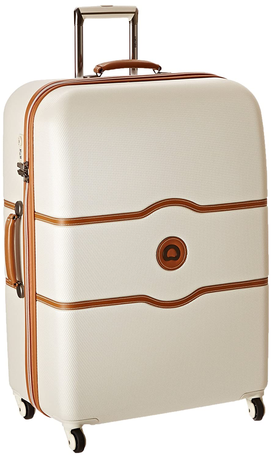 DELSEY Paris Delsey Luggage Chatelet 28 Inch Spinner Trolley Champagne One Size