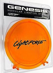 Lightforce Genesis 210 Amber Filter Combo Clam Pack, Each.