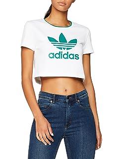 1e0500903e1 adidas Originals Womens Cropped Graphic T-Shirt in Black: adidas ...
