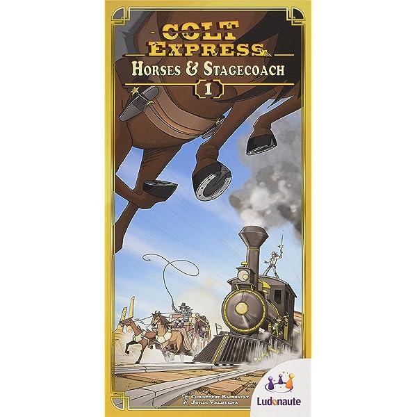 Colt Express: Horses and Stagecoach: Amazon.es: Juguetes y juegos
