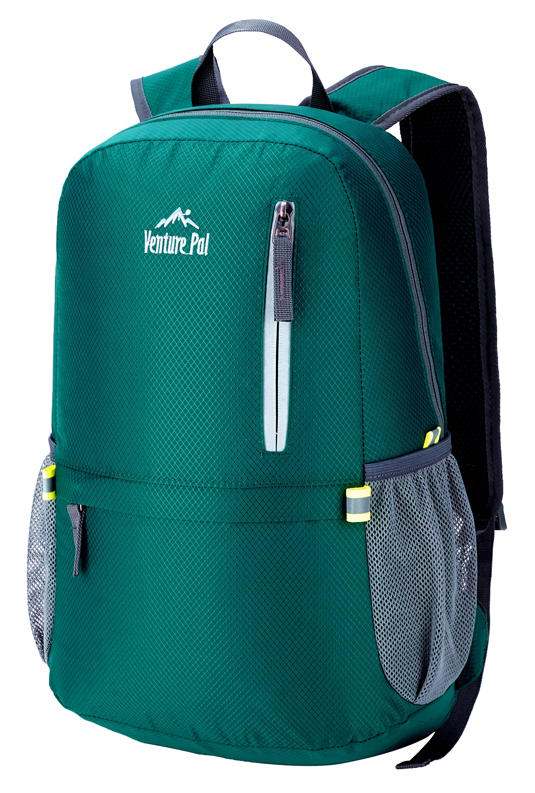 Venture Pal 25L Travel Backpack - Durable Packable Lightweight Small Backpack Women Men (Green) … by Venture Pal (Image #3)