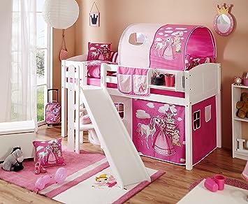 hochbett mit simple bett nachtisch und hochbett aus. Black Bedroom Furniture Sets. Home Design Ideas