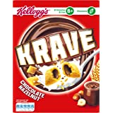 Krave Hazelnut Chocolate Cereal Shells 375 g, Pack of 6