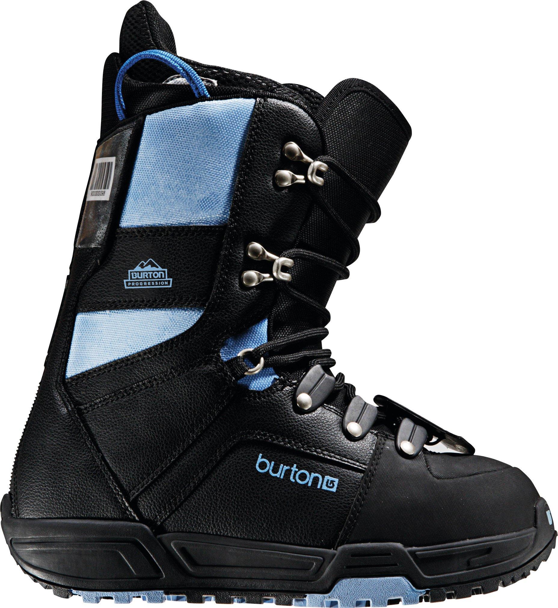 Burton Progression Womens Snowboard Boot 2009, Charcoal/Grey, 4