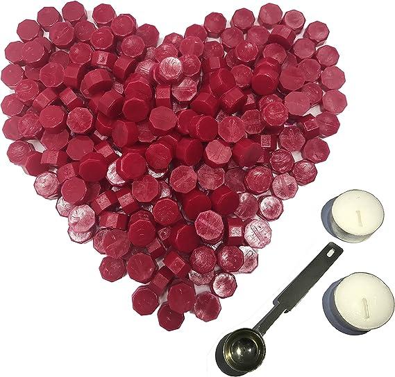 180 Pieces Sakura Pink Bottle Sealing Wax Beads