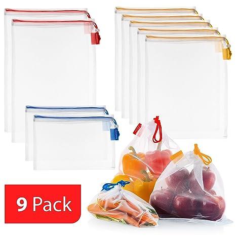 Amazon.com: Vandoona - Bolsas reutilizables: Kitchen & Dining