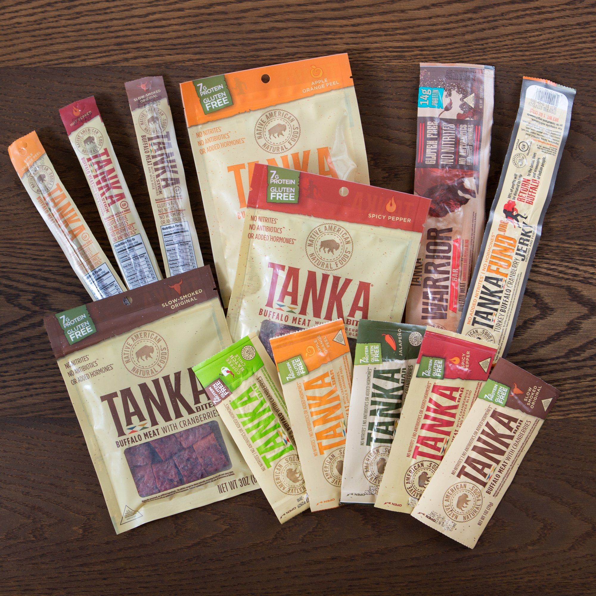 Bison Pemmican Meat Bar with Buffalo and Cranberries by Tanka, Gluten Free, Beef Jerky Alternative, Slow Smoked Original, 2 Ounce Bar, Pack of 12 by Tanka (Image #12)