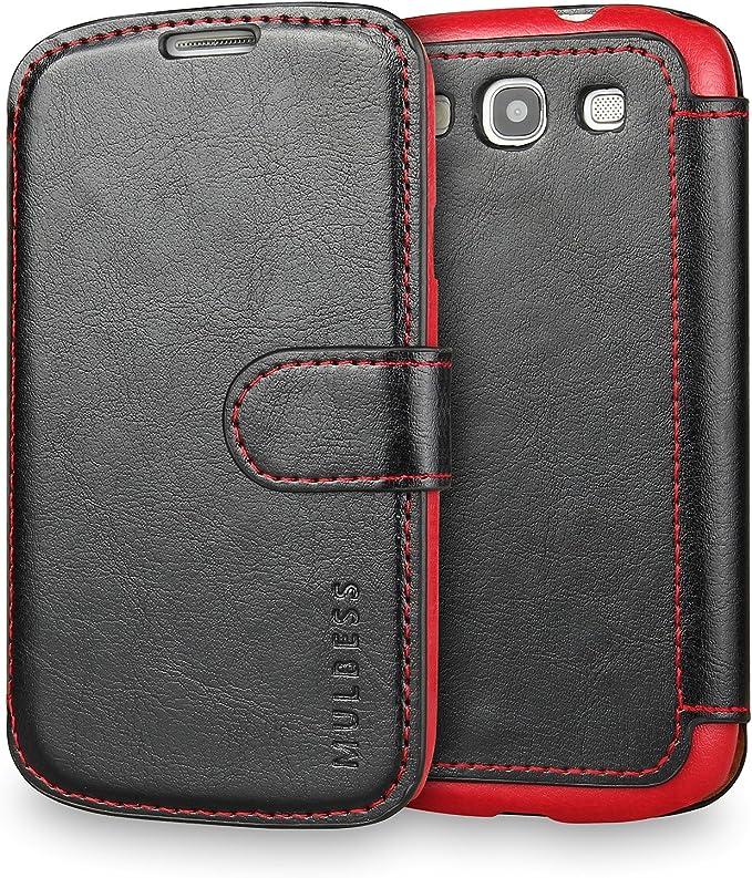 Mulbess Coque pour Samsung Galaxy S5 Mini, Etui Samsung Galaxy S5 Mini Cuir avec Magnetique, Layered Housse Protection pour Samsung Galaxy S5 Mini ...