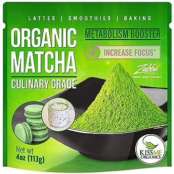 Kiss Me Organic Japanese Culinary Grade Matcha Tea