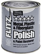 Flitz CA 03518-6 Blue Metal, Plastic and Fiberglass Polish Paste, 2.0-Pounds, Quart Can