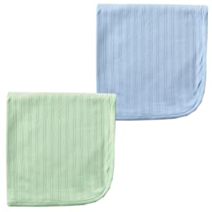 Organic Cotton Swaddle Blanket 2-Pack
