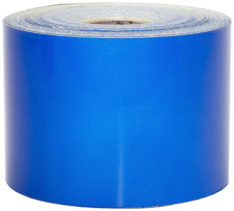 Mutual 17786 Engineering Grade Retro Reflective Adhesive Tape, 10 yds Length x 4' Width, Blue 10 yds Length x 4 Width Mutual Industries Inc. 17786-2510-4000