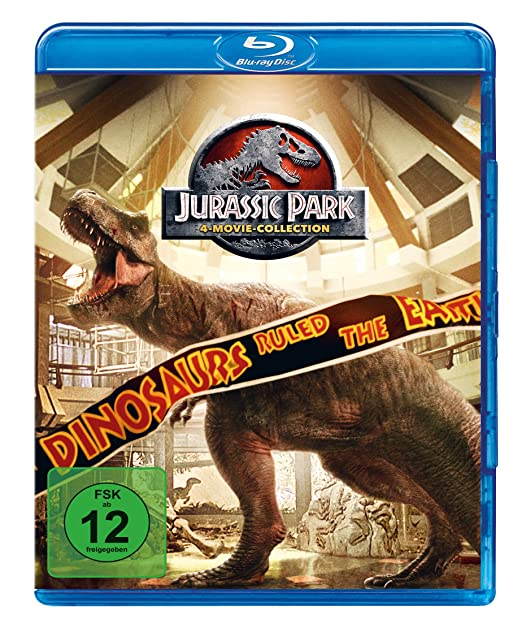 Jurassic Park - DVD Box - Blu Ray