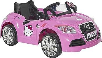 Dynacraft Hello Kitty 6V Sports Car Ride-On